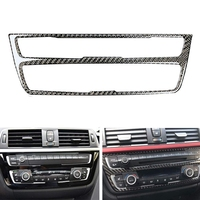 Koolstofvezel Auto Interieur Console Panel Cover Trim Voor Bmw F30 F34 3 Serie 320I
