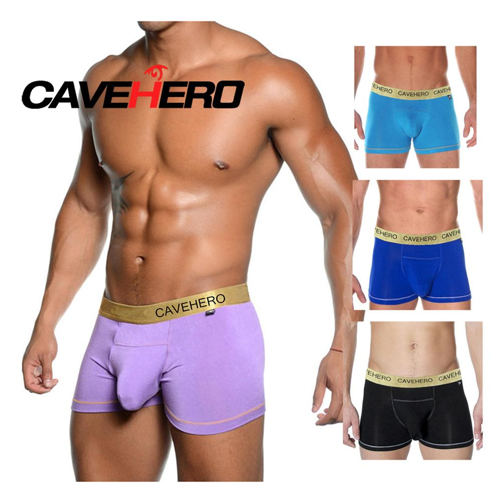 Christian Bomboo Front Big Penis Pouch Modal Men Boxers Shorts Underwear Modal Male Panties Andrew Plus Size