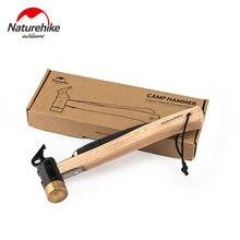 Naturehike 2020 Neue Camping Kupfer Hammer Outdoor Camping Zelt Tragbare Nagel Hammer Nagel Puller Boden Nagel Hammer