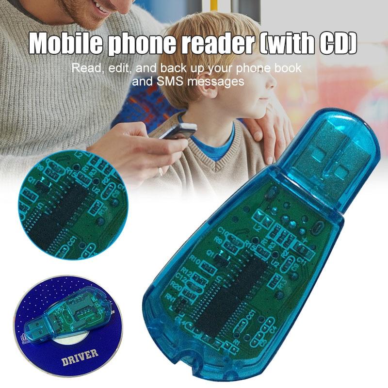 Newly Reader USB SIM Card Reader Simcard Writer/Copy/Cloner/Backup GSM CDMA WCDMA Cellphone  DC128