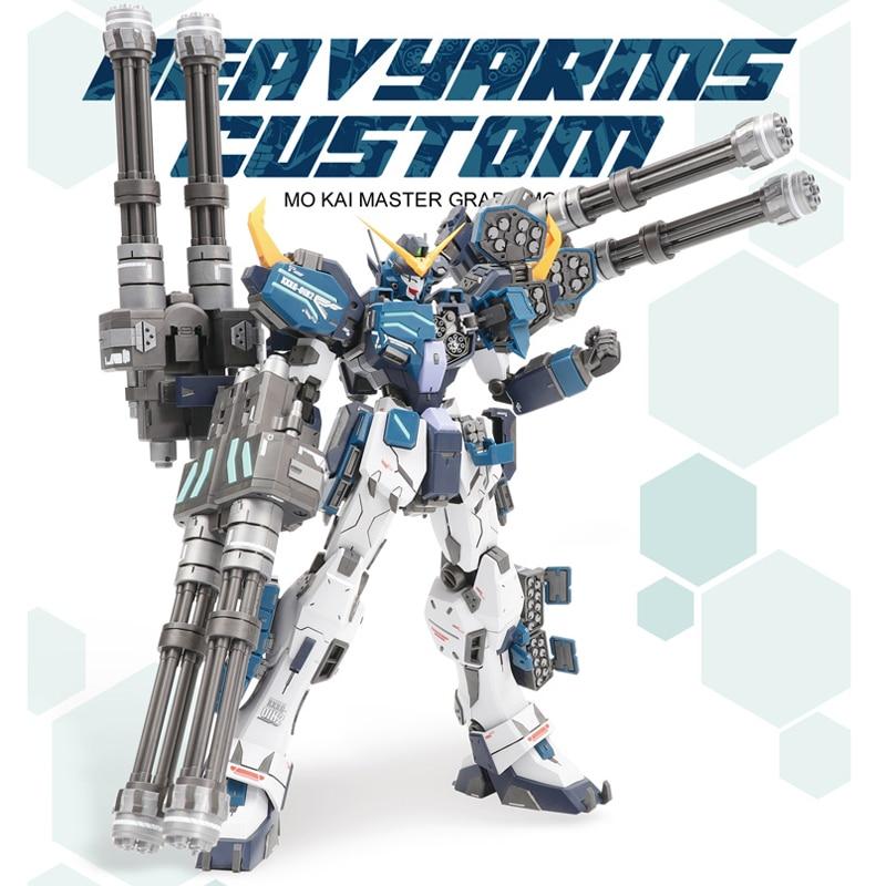 COMIC CLUB INSTOCK Super Nova XXXG-01S2 W Gundam Heavy Arms Custom Model Kit MG 1/100 Action Figure Assembly Toy Gife 18cm