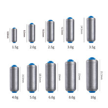 HOT 15Pcs Fishing Lead Sinker Set Quick Replace 1.5-6g Weight Sinkers Fishing Accessories