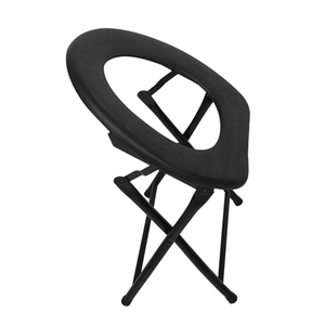 Image 2 - Portable Strengthened Foldable Toilet Chair Travel Camping Climbing Fishing Mate Chair Outdoor Activity Accessories