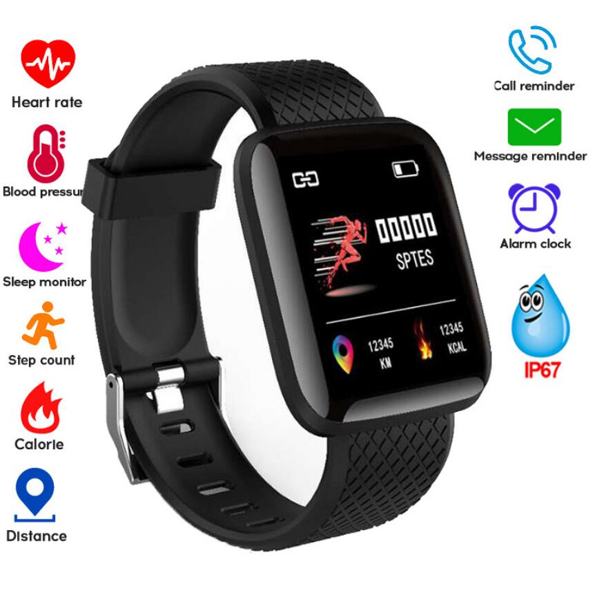 Smartwatch Women Heart Rate Monitor Fitness Tracker Watch Sport For Android IOS Smart Watch Men Blood Pressure Waterproof