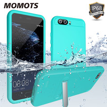 Shockproof Waterproof Case for Huawei P10 Case Diving Case for Huawei P10 Case with Stand 360 Full Protection Cover