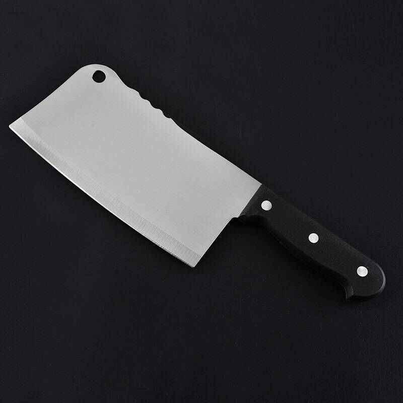 سكاكين تقطيع المطبخ من SHUOJI 3Cr13 سكاكين طاه من الفولاذ المقاوم للصدأ للاستخدام المزدوج سكاكين طبخ سهلة القطع أضلاع لحم الخنزير بطة الدجاج