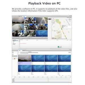 "Image 5 - DIY 720P AHD 4CH 256GB Auto Lkw Mobile AHD DVR Video Recorder Rückansicht CCTV Kamera System 7 ""Monitor Kostenloser Versand"