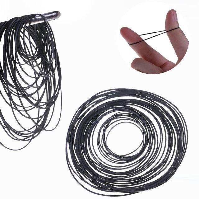 50 sztuk worek 1mm Mix kaseta magnetofonowa pasy maszynowe Assorted płaski pasek gumowy 45-130mm tanie i dobre opinie TCAM CN (pochodzenie) U50D4NB402643 rubber 1mm 0 03in 4 5-13cm 1 77-5 11in