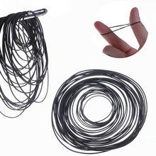 50Pcs/bag 1mm Mix Cassette Tape Machine Belts Assorted Flat Rubber Belt 45-130mm