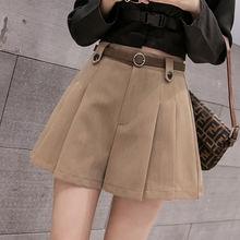 Женские универсальные шорты с широкими штанинами на осень и