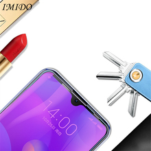 IMIDO Full Cover for Xiaomi Mi Play Anti Blue Tempered Glass Blue-ray Screen Protector Protective Film