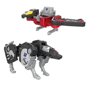 Image 2 - Mini Size Robot Siege Oorlog Voor Cybertron Ravage + Laserbeak Red Heat + Uitzetten Klassieke Speelgoed Voor Jongen Kinderen Action figuur Met Doos