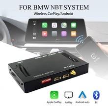 Carro sem fio carplay ativador android caixa de interface automática para-bmw nbt 1234567 series f10 f20 f30 X1-X6 M2-M6 mini z4