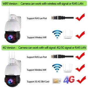 Image 3 - لايفنال H.265 1080P 3G 4G بطاقة SIM كاميرا 2MP اللاسلكية PTZ IP كاميرا واي فاي سرعة قبة في الهواء الطلق 20X التكبير SD فتحة للبطاقات اتجاهين الصوت
