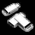 Type en métal C lecteur de stylo 32 GB Usb clés de mémoire Flash pour Xiaomi Huawei clé USB 32 GB U bâton pour le bureau de téléphone Android