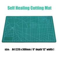 A2/A3/A4 сетка линии резки коврик для рукоделия доска самовосhealing вающаяся Нескользящая печатная шкала плиты нож качество резки