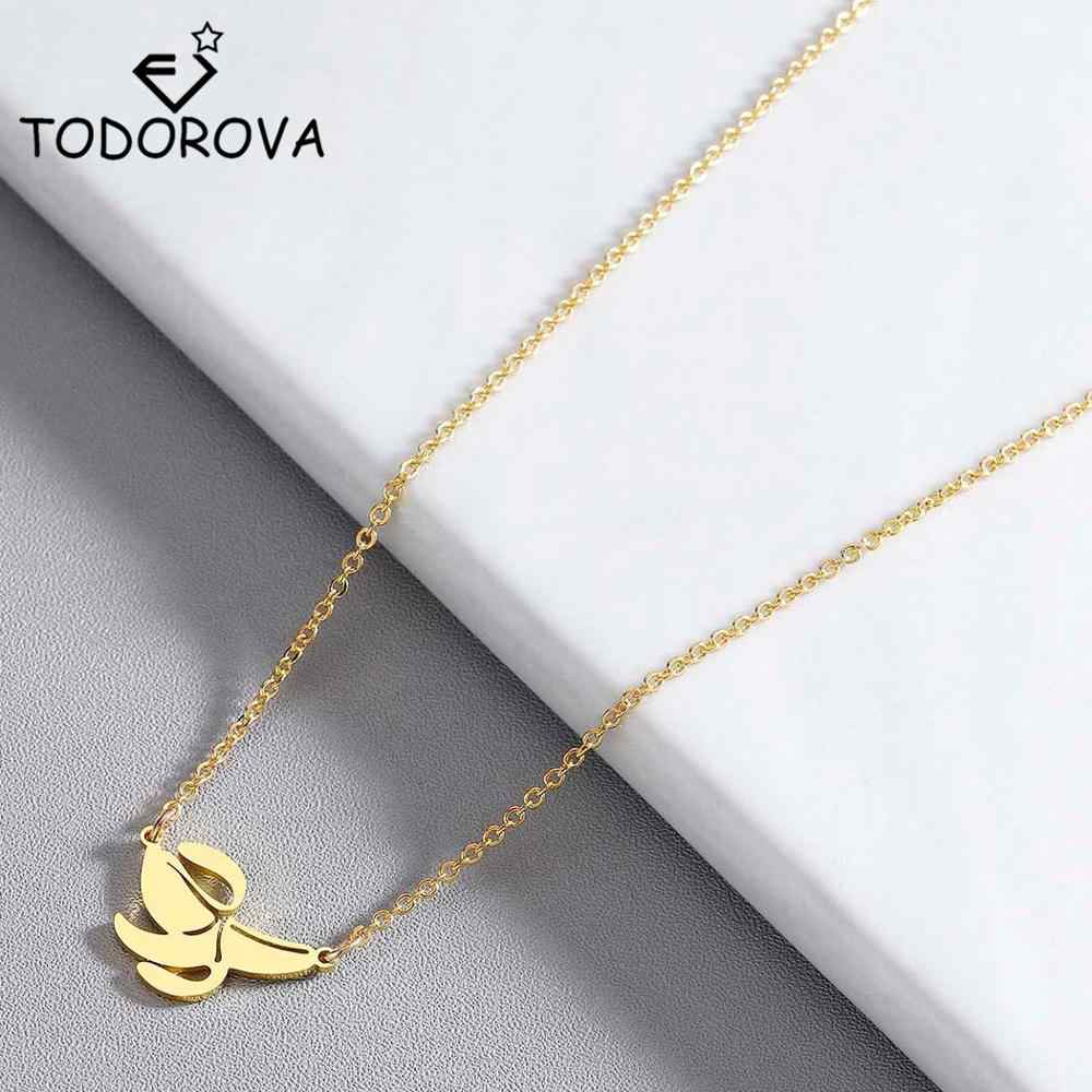 Todorova Tropical Fruit Banana Pendant Necklaces for Women Summer Jewelry Peel the Bananas Three Petals Choker Necklace