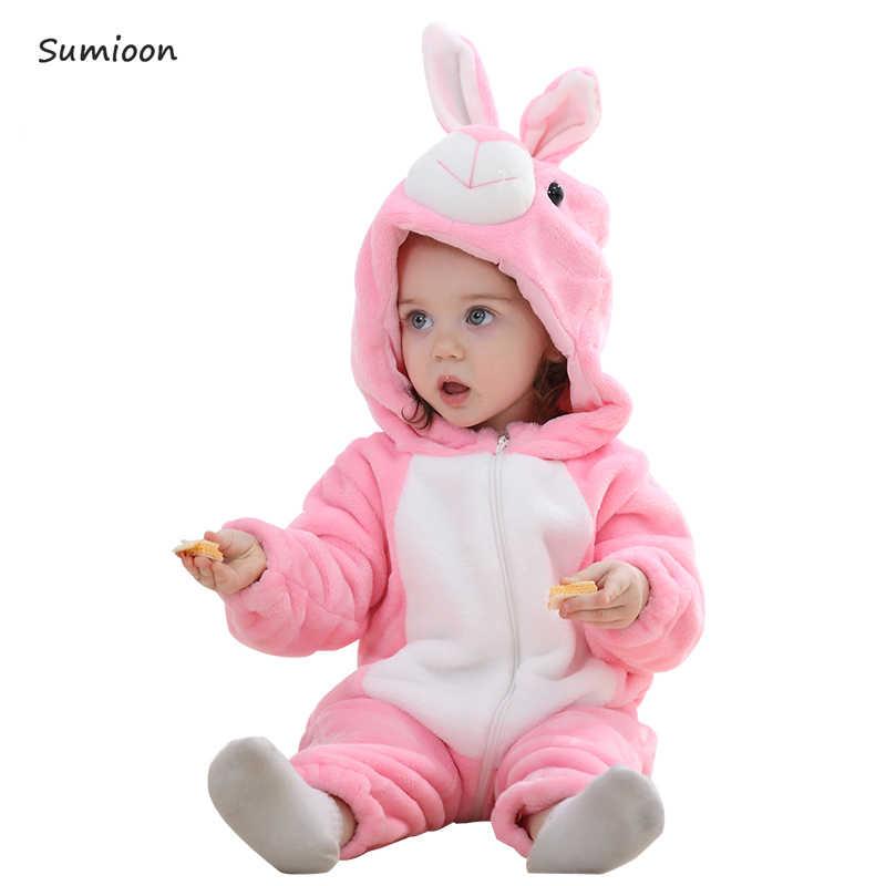 Neugeborenen Romper Baby Jungen Mädchen Overall Bebe Kleidung Kleinkind Infant Pyjamas Winter Baby Kleidung Stich Strampler Baby Kostüme