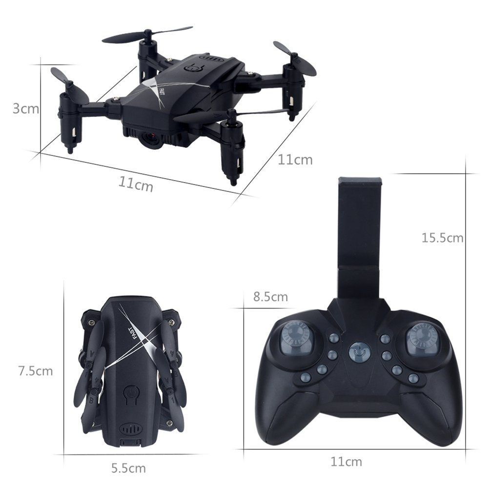 LF602 FPV Foldable RC Quadcopter Drone with 720P HD Wifi Camera and Altitude Hold Function 5