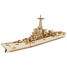 3D Cutting DIY Sailing Ship Military Wooden Puzzle Kits Desk Toy Assembly Model building ship Desk Decoration 3917 цена
