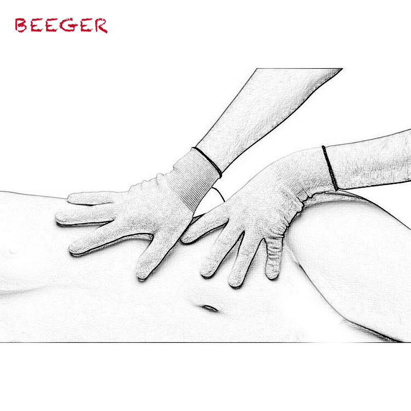 BEEGER  Awaken Electro Stimulation Gloves,Electric Shock Gloves 