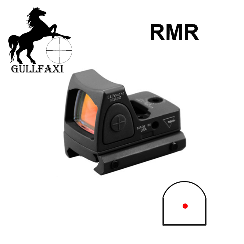 Red Dot Sight Scope RMR Optical Sight Tactics Glock Pistol Reflect Weapon Sight Adjustable Handgun Sighting Device Hunting Scope