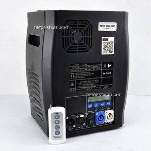 Image 2 - Gigertop 2 unidades de máquina de chispas frías, 2 5M, DMX 512, fuegos artificiales, pantalla LCD, toma de corriente de entrada/salida