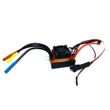 Orange RC CAR Waterproof 60A RC Brushless ESC BEC Auto Parts Motorized Speed ​​Controller with 5.5V 3A BEC for 1/10 RC Car Truck gleagle cloud 100a brushless w o bec esc rc speed controller for brushless motor rc helicopter rc airplane