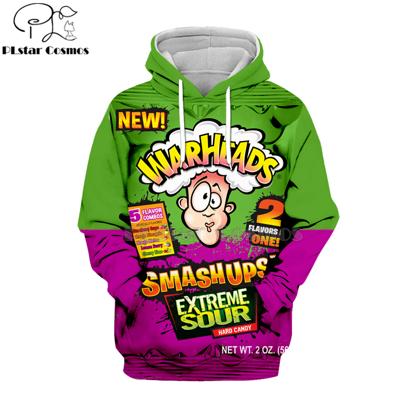 Newest Candy Snack Bag Chocolate Sauce 3D Hoodies Food Harajuku Men Women Long Sleeve PulloVer Hooded Sweatshirt Casual Brand-2