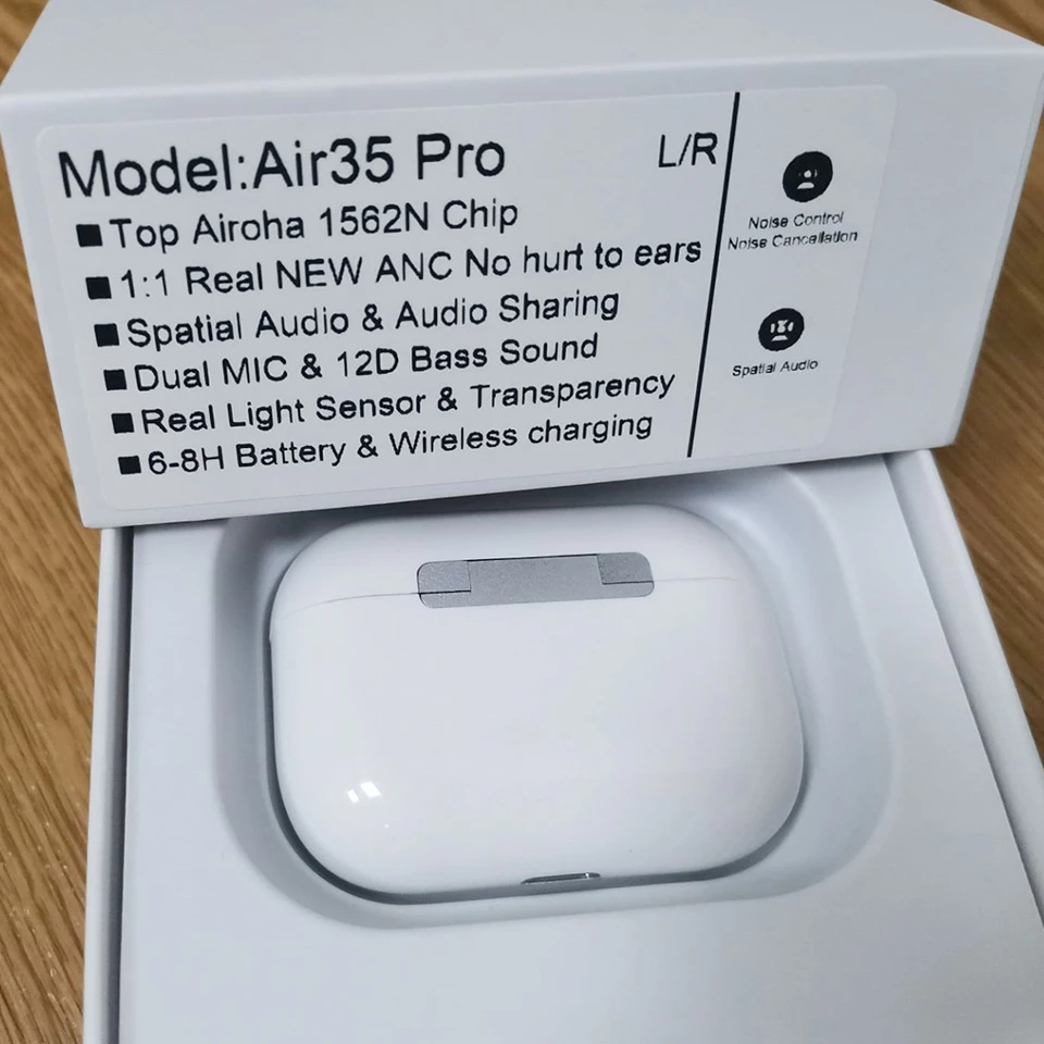 Air35 Pro Наушники-вкладыши TWS с Airoha 1562N чип Беспроводной Bluetooth наушники с зарядки чехол супер бас True светильник Сенсор PK i90000 i99999