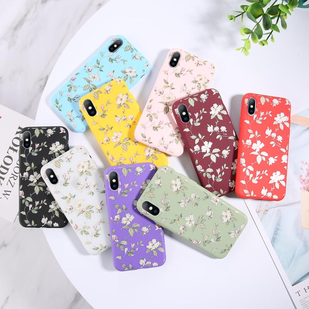 Flower Phone Case For iPhone 11Pro Max X XR XS MAX – Floral Soft TPU Silicone Case Mobile Phone Accessories Phone Cases & Cover d92a8333dd3ccb895cc65f: For 6 Plus 6s Plus|For iPhone 11|For iPhone 11 Pro|For iPhone 11Pro Max|For iphone 5 5s SE|For iphone 6 6S|For iPhone 7|For iPhone 7 Plus|For iPhone 8|For iPhone 8 Plus|For iphone X|For iphone XR|For iphone XS|For iphone XS MAX