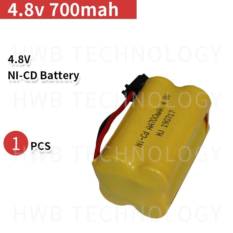 4.8v 700mah ni-cd 4.8v aa bateria Recarregável 4.8v nicd ni cd bateria 4.8v 800mah para RC modelo de barco de brinquedo do carro