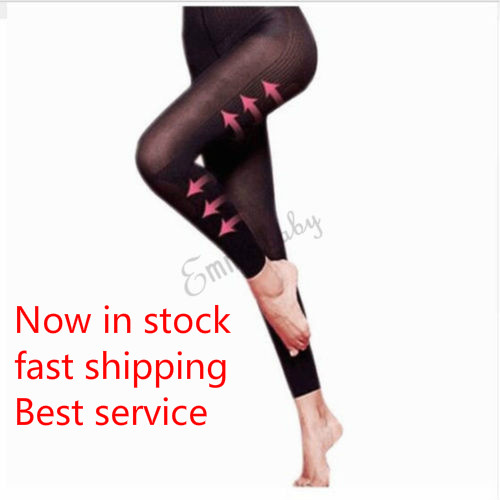 Women's Thigh Belly Fat Burner Leggings, High Waist Legging Slimming Capris Workout