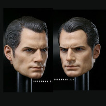 1/6 cabeça do sexo masculino cabeça de escultura modelo henry cavill cabeça esculpir apto 12 model model figura masculina corpo modelo