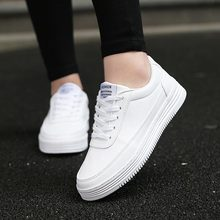 Large Size Women's Sneakers Leather PU Women's Sport Shoes M