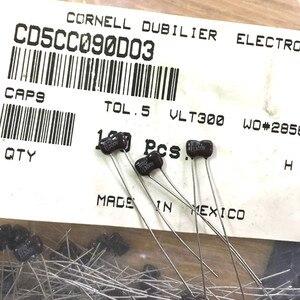 Image 1 - 20PCS MEXICO CDM Silver Mica 300V9PF P3MM mica capacitor 300V 9P 9pF/300V CD5CC090D03