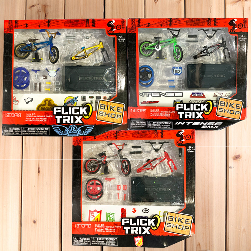 Professional 1:50 Mini Finger BMX Mini-finger-bmx Finger Bikes Toy Set With Retail Packaging For Novelty Kids Toy