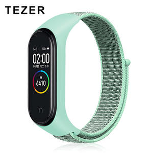 TEZER Bracelet-Accessories Strap Mi-Band Nylon Xiaomi Smart-Wrist Colorful 3-Replacement