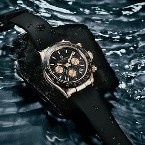 Image 1 - PAGANI 2020 Neue Quarz männer Uhren Sport Business/Wasserdicht/Uhr Männer Edelstahl Männlichen Handgelenk Uhren Relogio masculino