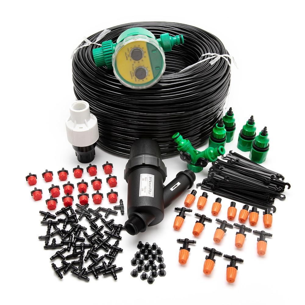 Система микрокапельного орошения, садовая система полива, регулируемые капельницы, комплект «сделай сам» 5-50 м