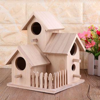 Creative Wooden Bird House 12