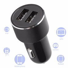 HY-36B car charger modern multi-function digital display dual usb charging cigarette lighter
