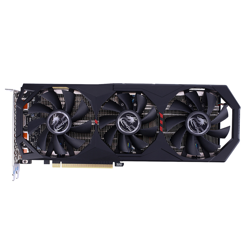Colorful RTX 2070 SUPER 8G-V GDDR6 256Bit 1605Mhz/1770Mhz 12Nm 3XDP+HDMI Gaming Video Image Card