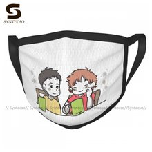 Ponyo Face Mask Print Dust Protection Fantasy Adults Polyester Facial Mouth Mask