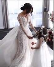 Роскошное кружевное свадебное платье verngo с цветочным рисунком