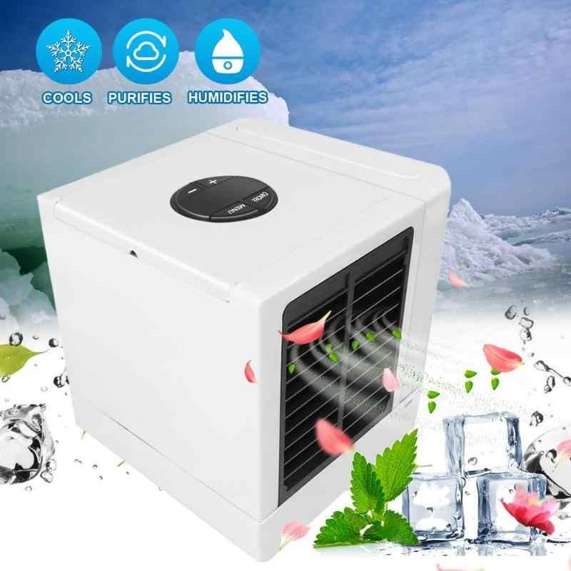 375 مللي 5 سرعات LCD USB مبرد الهواء تنقية سطح منزل الهواء التبريد مروحة