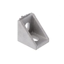 Uchwyt narożny aluminium łączące elementy mocujące dla serii 2020 do wytłaczania 20x20x17mm M5TB tanie tanio POFAN Śruby pociągowej M5TB4N60558