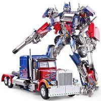 Figura de acción transformable de película OP Commander, MPM04, BMB, LS03, LS-03, Black Mamba, MPP10 figura de acción de gran tamaño, Robot, modelo de juguete, regalos