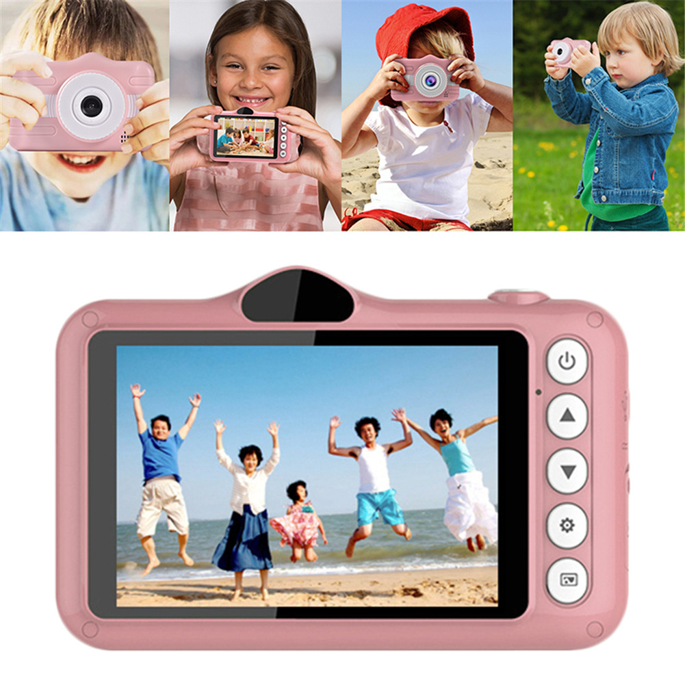 3.5inch Kids Sports Camera 8MP Mini Digital Toy Camera With Card Reader 32GB Memory Card Christmas Birthday Gift