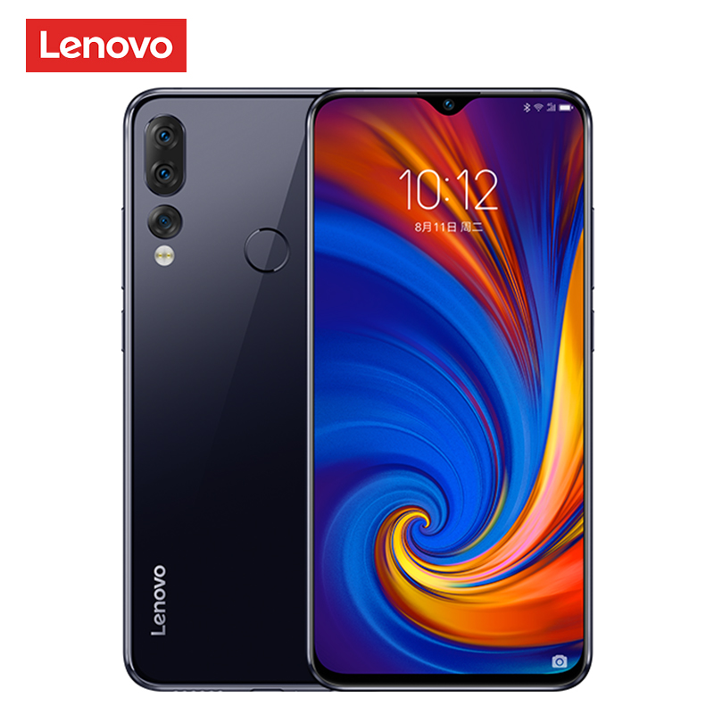 Global Version Lenovo Z5s Snapdragon 710 Octa Core 6GB 64GB Smartphone Face ID 6.3inch Android 9.0 Triple Rear Camera Cellphone